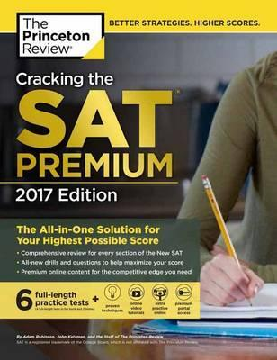 Cracking the SAT 2017 Edition